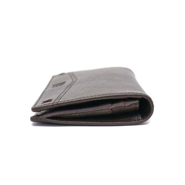 Lee 財布 LEE リー 長財布 サイフ kashuru カシュール レザー 本革  小銭入れあり 二つ折り メンズ レディース 320-1606 チョコ(24)