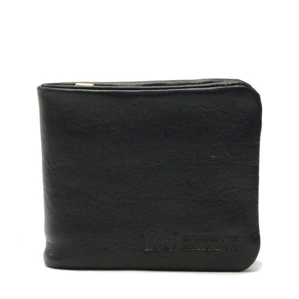 super popular 6e179 efabc Lee 財布 LEE リー loose 二つ折り財布 小銭入れ レザー 革 メンズ レディース 320-1925 ブラック(01)