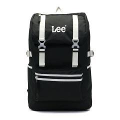 Lee リュック LEE リー バッグ million ミリオン デイパック バックパック A4 B4 大容量 メンズ レディース 軽量 通学 320-4800 ブラックxホワイト(83)