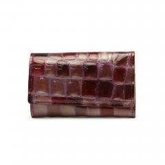 アルカン キーケース Arukan メテオール カードポケット 鍵 革 レディース 3257-304 ワイン系(79)