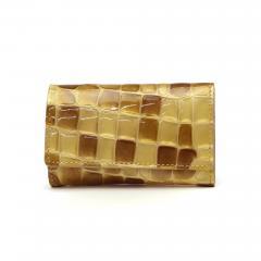 アルカン キーケース Arukan メテオール カードポケット 鍵 革 レディース 3257-304 シルバー(92)
