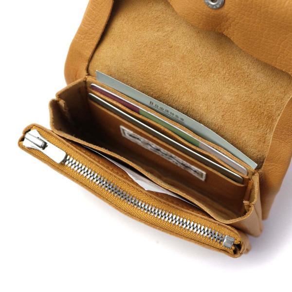 ツールズ 財布 二つ折り財布 Tools by SLOW ツールズバイスロウ GIBOSHI WALLET SMALL メンズ レディース レザー 本革 小銭入れあり 333T17F ネイビー(75)