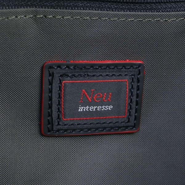 Neu interesse ノイインテレッセ トートバッグ ビジネスバッグ メンズ ナイロン BEETTEX ビートテックス 2WAY トート 革 Reifen ライフェン 3474 ネイビー