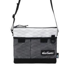 ワイルドシングス サコッシュ WILD THINGS X-PAC ショルダーバッグ バッグ ナイロン 自転車 斜め掛け メンズ レディース 380-0072 ホワイト(10)