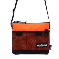 ワイルドシングス サコッシュ WILD THINGS X-PAC ショルダーバッグ バッグ ナイロン 自転車 斜め掛け メンズ レディース 380-0072 オレンジ(61)
