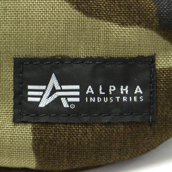 アルファインダストリーズ バッグ ウエストバッグ ALPHA INDUSTRIES ウエストポーチ ボディバッグ メンズ USAモデル 40007 カモ