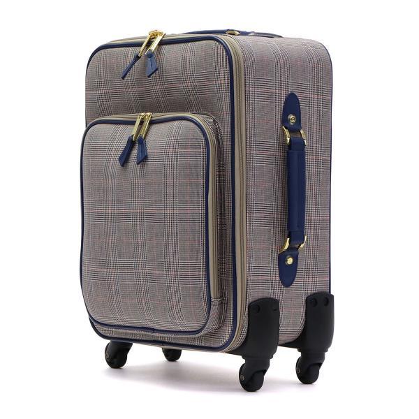 4dd1eaf176 ... ツモリチサト トラベル スーツケース tsumori chisato TRAVEL キャリーケース グレンチェックキャリー 30L 1泊 2  ...
