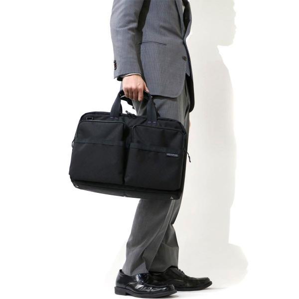 アンフィニッシュド UNFINISHED バッグ PACK 2WAYブリーフケース(B4対応) ビジネスバッグ 47012 ネイビー