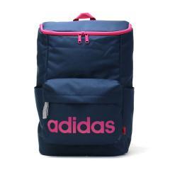 【セール】アディダス リュックサック adidas スクールバッグ リュック デイパック 通学 バッグ スクール スポーツ 20L スクエア型 レディース メンズ 中学生 高校生 47447 カレッジネイビー(03)