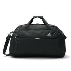 アディダス ボストンバッグ adidas 修学旅行 スクールバッグ ボストン 2WAY バッグ スポーツ 大型 50L レディース メンズ 中学生 高校生 林間学校 臨海学校 部活 1~3泊程度 47842 ブラック(01)