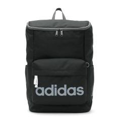 【セール】アディダス リュックサック adidas スクールバッグ リュック デイパック 通学 バッグ バックパック スクール スポーツ スクエア型 20L レディース メンズ 中学生 高校生 47894 ブラック(01)