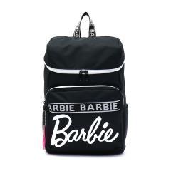 【セール】バービー リュック Barbie バッグ レニ スクールバッグ リュックサック デイパック バックパック 通学 スクール スポーツ スクエア 15L レディース 可愛い 中学生 高校生 54182 ブラック(01)