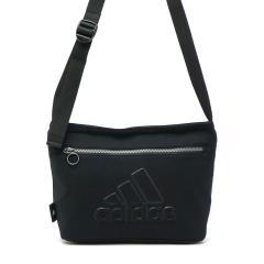 アディダス ショルダーバッグ adidas バッグ ショルダー 斜め掛け 斜めがけ B5 スポーツ 5L メンズ レディース 中学生 高校生 55091 ブラック(01)