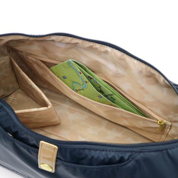 【セール】カナナプロジェクト コレクション ショルダーバッグ kanana project COLLECTION ベル2 ショルダー 斜めがけ ファスナー付き 軽い 軽量 旅行 大きめ レディース 55353 世界ふしぎ発見 ネイビー(03)
