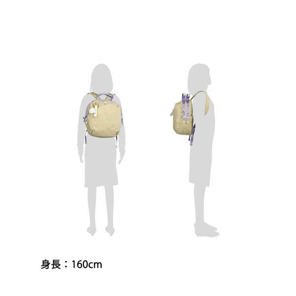 【セール】カナナプロジェクト コレクション リュック kanana project COLLECTION リュックサック ベル2 B5 レディース 軽い 55355 世界ふしぎ発見 ベージュ(05)