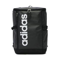 【セール】アディダス リュック adidas スクールバッグ リュックサック デイパック 通学 バッグ バックパック スクール スポーツ スクエア型 A4 B4 23L レディース メンズ 部活 男子 女子 中学生 高校生 55482 ブラックxホワイト(01)