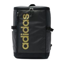 アディダス リュック adidas スクールバッグ リュックサック デイパック 通学 バッグ バックパック スクール スポーツ スクエア型 B4 22L レディース メンズ 部活 中学生 高校生 55482 ブラックxゴールド(13)