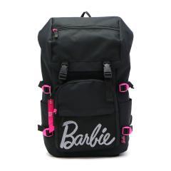 【セール】バービー リュック Barbie バッグ シエラ スクールバッグ リュックサック フラップタイプ デイパック バックパック 通学 スクール スポーツ 17L B4 レディース 可愛い 中学生 高校生 55783 ブラック(01)