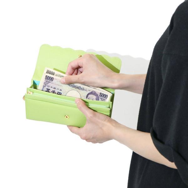 ツモリチサト 財布 tsumori chisato carry 長財布 レディース ブランド ラウンドヘム かぶせ長財布 レザー 57268 ブラック(01)