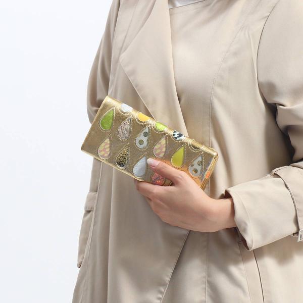 ツモリチサト 財布 tsumori chisato CARRY ドロップス 長財布 レディース 小銭入れあり 本革 57913【送料無料】 ブラック2