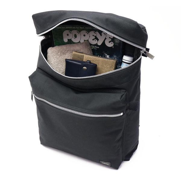 吉田カバン ポーター スペック ポーター リュック PORTER SPEC リュックサック バックパック デイパック 吉田かばん バッグ ナイロン 日本製 メンズ レディース 580-19607 グレー(11)