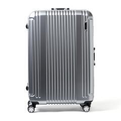 【正規品1年保証】バーマス スーツケース BERMAS バーマス スーツケース プレステージ2 PRESTIGE II キャリーケース フレーム 83L 大型 Lサイズ 7〜10泊 ハード 軽量 60266 シルバー(22)