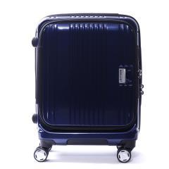 【正規品1年保証】バーマス スーツケース BERMAS EURO CITY ユーロシティ 機内持ち込み キャリーケース ファスナー 38L 小型 1~2泊 4輪 ハード 60290 ネイビー(60)