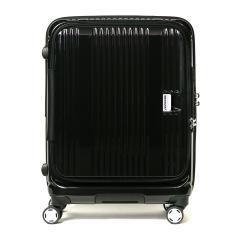【正規品1年保証】バーマス スーツケース BERMAS EURO CITY ユーロシティ キャリーケース ファスナー フロントオープン 55L 3~5泊 USBポート 4輪 ハード 旅行 ビジネス 出張 60291 ブラック(10)
