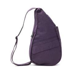 ヘルシーバックバッグ M ボディバッグ HEALTHY BACK BAG ショルダーバッグ Textured Nylon M テクスチャードナイロン ワンショルダー アメリバッグ 軽量 タテ型 旅行 レディース メンズ 斜めがけ 6304 プラム(PL)