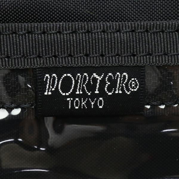 吉田カバン ポーター ハイブリッド ポーター トラベルオーガナイザー PORTER HYBRID パスポートケース ナイロン 軽量 メンズ レディース 737-17824 ブラック(10)