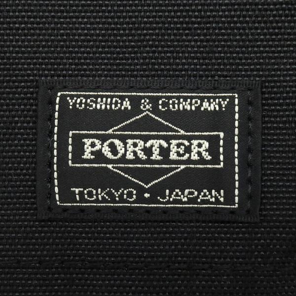 吉田カバン ポーター ハイブリッド ポーター トラベルケース PORTER HYBRID パスポートケース 首下げ ナイロン 軽量 メンズ レディース 737-17826 ブラック(10)