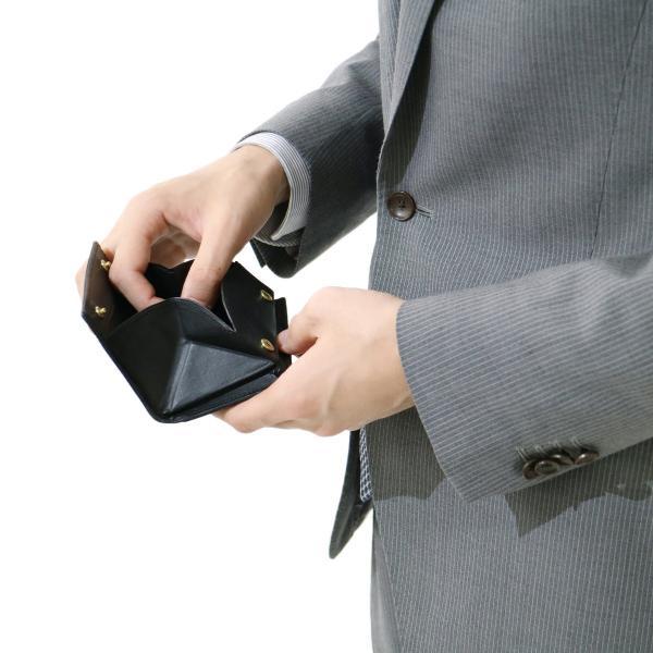 コルボ CORBO カード・コインケース コルボ カードケース ボックス型 小銭入れ メンズ 革 corbo. SLATE 8LC-9957【送料無料】 ダークグリーン(60)