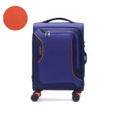 【正規品3年保証】サムソナイト アメリカンツーリスター スーツケース AMERICAN TOURISTER 機内持ち込み Sサイズ 軽量 拡張 フロントオープン ポケット ソフト キャリーケース スピナー55エキスパンダブル アップライト 3.0S 38L TSA 旅行 DB7-49002 ボデガブルー(1061)