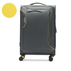【正規品3年保証】サムソナイト アメリカンツーリスター スーツケース AMERICAN TOURISTER 軽量 拡張 フロントオープン ポケット ソフト キャリーケース スピナー71エキスパンダブル SPINNER 71 EXP アップライト 3.0S 73L 1週間 TSA 旅行 DB7-49003 ライトニンググレー(0552)