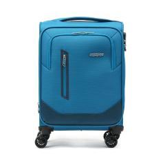 【正規品3年保証】 サムソナイト アメリカンツーリスター スーツケース AMERICAN TOURISTER ソフト 軽量 拡張 機内持ち込み Sサイズ フロントオープン KIRBY カービー Spinner 54 EXP スピナー54 32~34L 1泊 2泊 GL8-001 ブルー