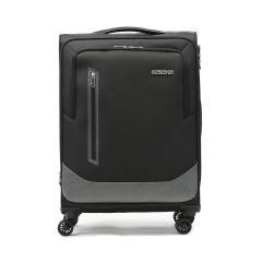 【正規品3年保証】 サムソナイト アメリカンツーリスター スーツケース AMERICAN TOURISTER ソフト 軽量 拡張 Mサイズ フロントオープン KIRBY カービー Spinner 66 EXP スピナー66 76~80L 6泊 7泊 1週間 GL8-002 ブラック