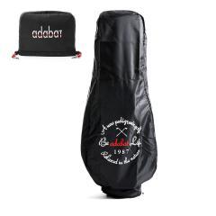 アダバット トラベルカバーセット adabat アイアンカバー キャディバッグ用トラベルケース 9.5インチ対応 GOLF ゴルフ用品 メンズ レディース ABO404 ブラック