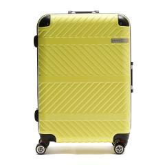 ACE DESIGNED BY ACE IN JAPAN スーツケース  エース デザインド バイ エース イン ジャパン ace. キャリーケース パラレル 61L 5~6泊 ハード Mサイズ 旅行 トラベル 06297 イエロー(13)