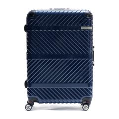 ACE DESIGNED BY ACE IN JAPAN スーツケース  エース デザインド バイ エース イン ジャパン ace. キャリーケース パラレル 88L 7~10泊 一週間 ハード Lサイズ 旅行 トラベル 06298 ネイビー(03)
