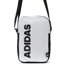 アディダス ショルダーバッグ adidas 斜めがけ 小さめ 縦型 ミニショルダー スポーツ アウトドア 男子 女子 メンズ レディース 55857 ホワイトxブラック(06)