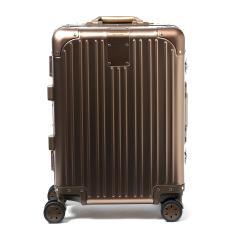 CARGO カーゴ スーツケース トリオ TRIO JET SETTER 機内持ち込み キャリーケース 4輪 旅行 AMW120(Sサイズ TSAロック 38L 1~3日程度) マットブロンズ