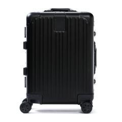 CARGO カーゴ スーツケース トリオ TRIO JET SETTER 機内持ち込み キャリーケース 4輪 旅行 AMW120(Sサイズ TSAロック 38L 1~3日程度) スモーキーブラック