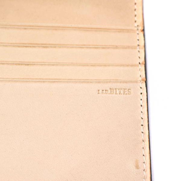 L.E.D.BITES・エルイーディーバイツ/SHELL・2つ折り財布 LEDバイツ【送料無料】 ネイビー