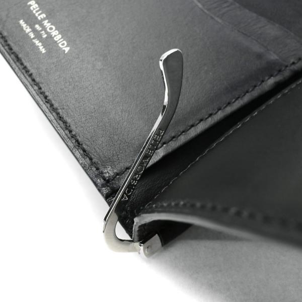 PELLE MORBIDA ペッレモルビダ 財布 マネークリップ モルビダ ミニウォレット メンズ レディース 革 Barca バルカ ペレモルビダ BA314 ブラック