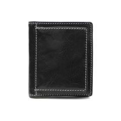 バギーポート 財布 BAGGY PORT 二つ折り財布 薄い BOX型小銭入れ 本革 CORFU コルフ ミニ財布 メンズ レディース ZKM-503 ブラック