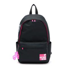 【セール】バービー リュック Barbie バッグ メイ スクールバッグ デイパック バックパック 通学 A4 レディース 可愛い 女子 中学生 高校生 55941 ブラック(01)