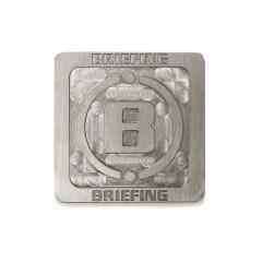 【日本正規品】ブリーフィング ゴルフ ゴルフマーカー BRIEFING GOLF SSS SQUARE MARKER スクエアマーカー ゴルフ用品 ステンレス メンズ レディース BRG201G22 スティール(011)