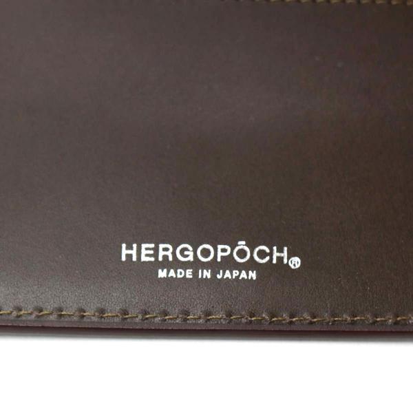 エルゴポック 財布 HERGOPOCH 長財布 Bridle Series 小銭入れあり レザー メンズ BLW-WTL グリーン