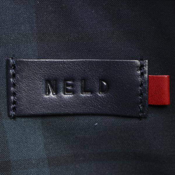 ネルド ショルダーバッグ NELD ボディーバッグ クラッチバッグ MILL ミル 斜め掛け 革 メンズ レディース BN310 ネイビー(75)