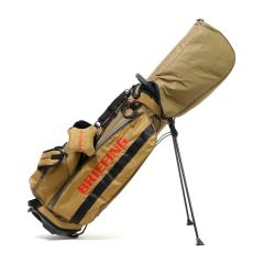 【日本正規品】ブリーフィング ゴルフ BRIEFING キャディバッグ スタンド CR-4 #01 X-PACK ゴルフバッグ メンズ ショルダー 背負い カバー レディース BRG183702 コヨーテ(026)